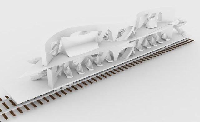 Train render 3