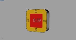 digital clock 01