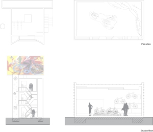 final plan & section