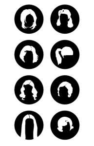 hair styles by decade