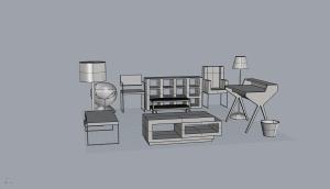 mixed  furniture 3