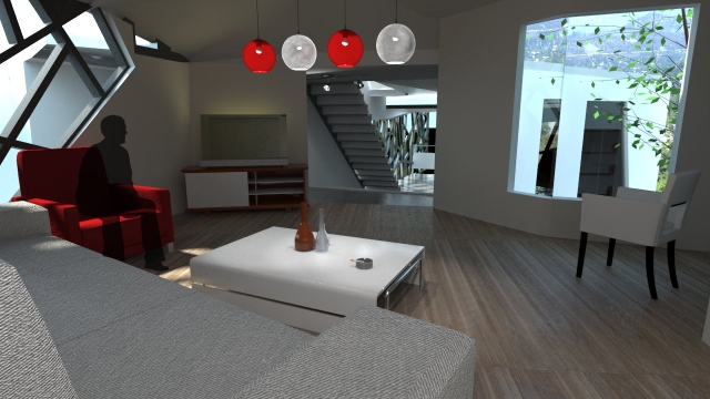 Living room render 2 W PEOPLE