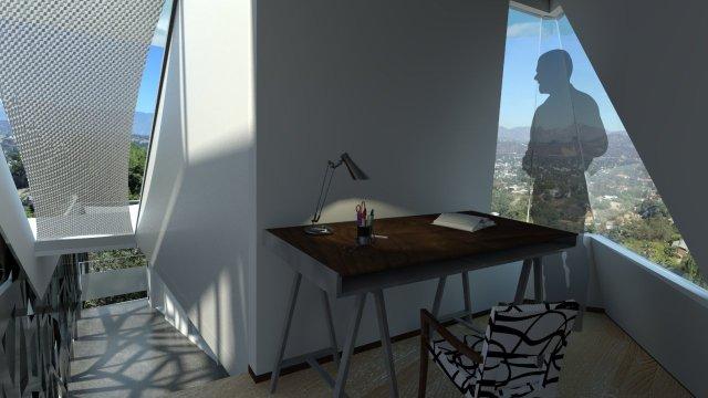 Rendering 1 office