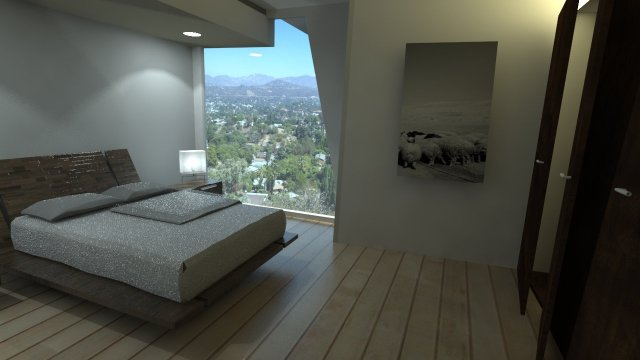 Rendering Bedroom