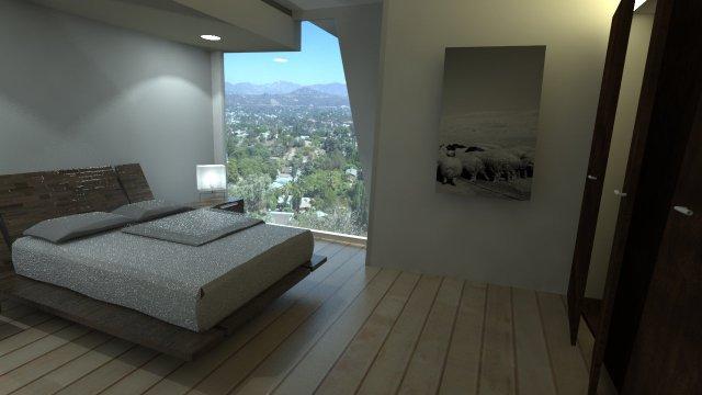 Rendering Bedroom
