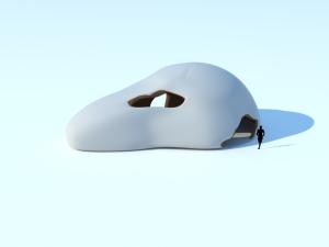 Side axon white