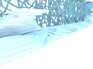 Final train rendering