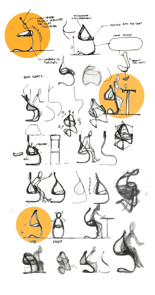 Alvin Oei - Chair Sketches