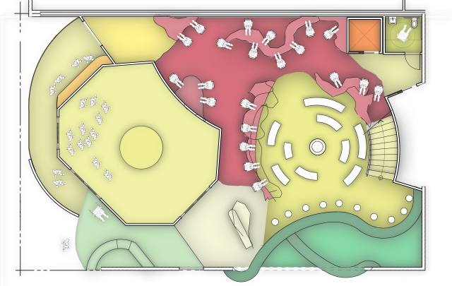 Alvin Oei - Art Center College of Design - Replay Floor Plan