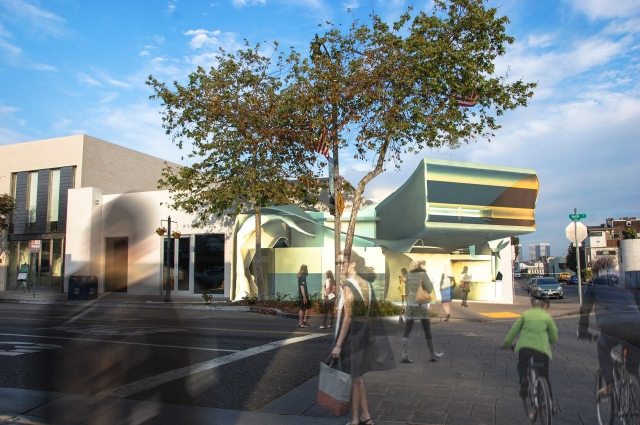 Alvin Oei - Art Center College of Design - Replay Exterior Composite  Main Street