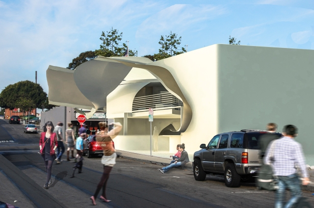 Alvin Oei - Art Center College of Design - Replay Exterior Composite  Franklin Ave