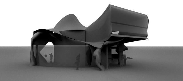 Alvin Oei - Art Center College of DesignReplay - Midterm Rendering Exterior 1
