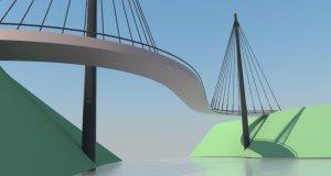 Bridge looking south