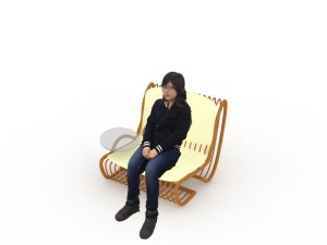 chair and me