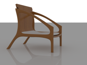 chair render