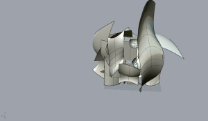 Gehry style structure