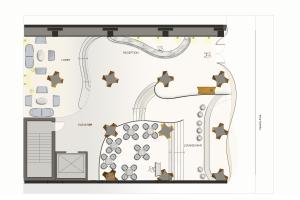 217 S Beverly - ground floor plan 004