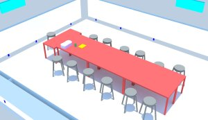 A4 classroom detail rendered