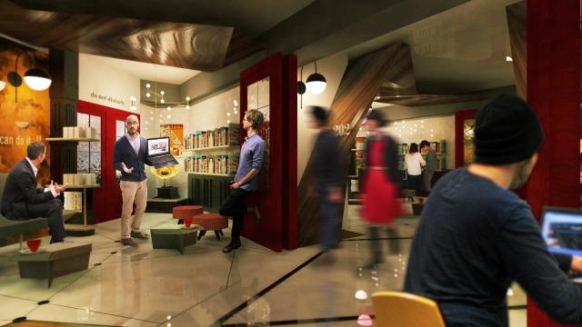 Ausloser Coffee Corridor