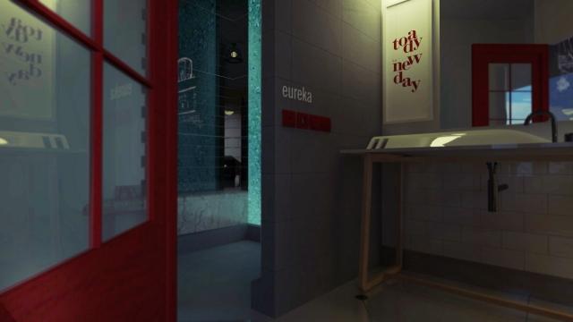 Alvin Oei - Art Center College of Design - Auslosen Hotel - Design Lab 3 - Toilet Room 2