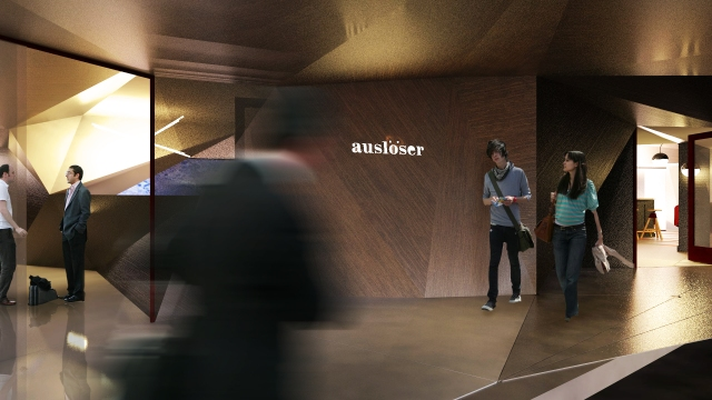 Entry and Valet area to Ausloser