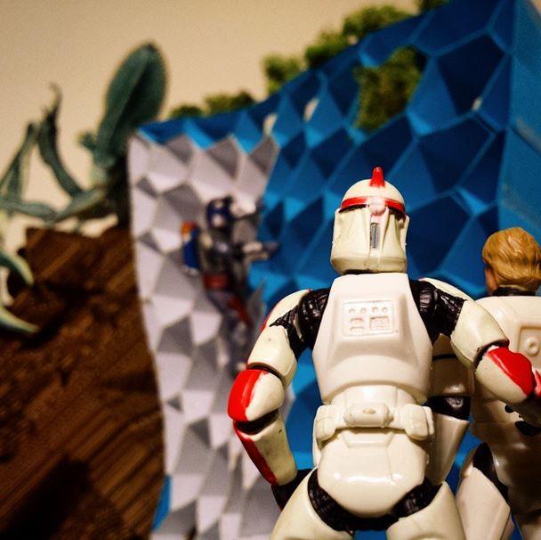Alvin Oei - Art Center College of Design - DP2 - Week 4 - Folded Star Wars
