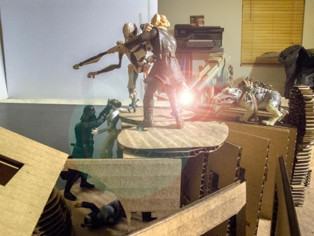 Alvin Oei - Art Center College of Design - Star Wars Battle
