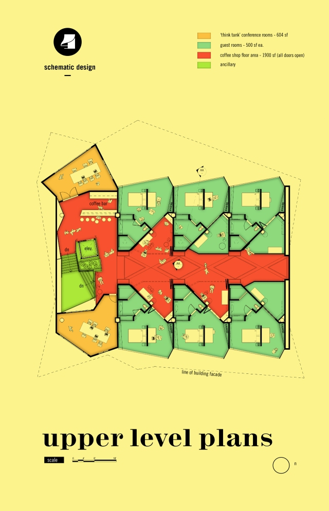 Alvin Oei - Art Center - Hospitality Design - Julius Meinl Ausloser Hotel Second Floor Plan
