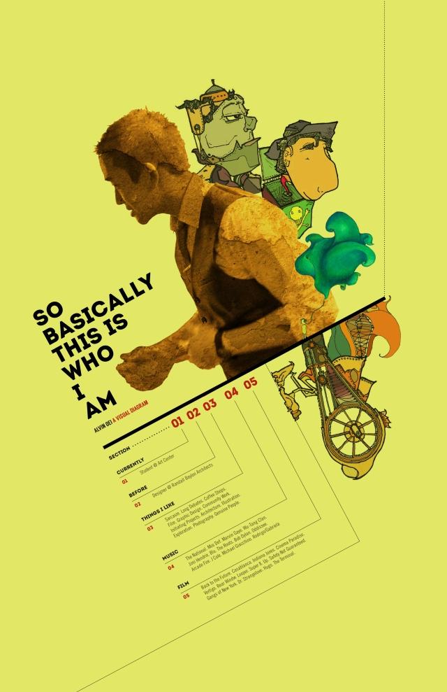 Alvin Oei - Design Lab 3 Week 1 - Who Am I