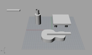 extrude object 2