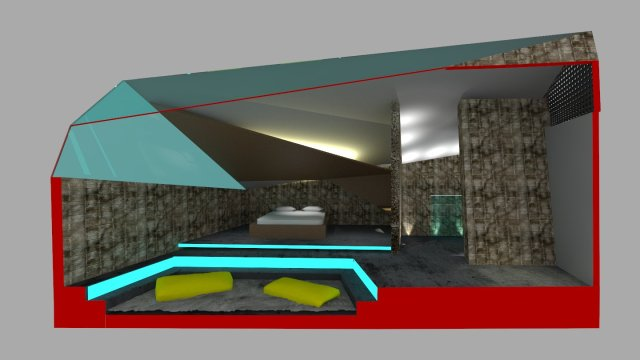 room section perspective 2