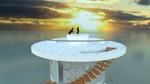 DP1_BeachHouse_RenderSunset_AM