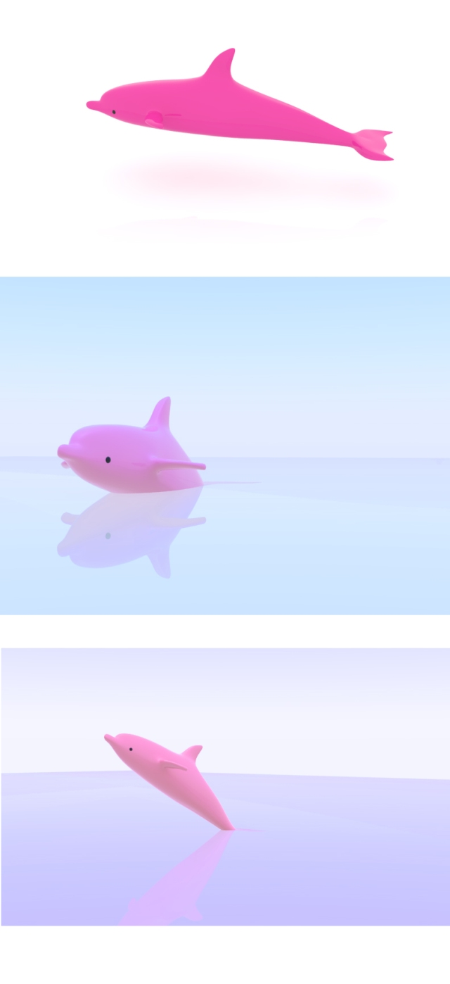 rendering(dolphin)