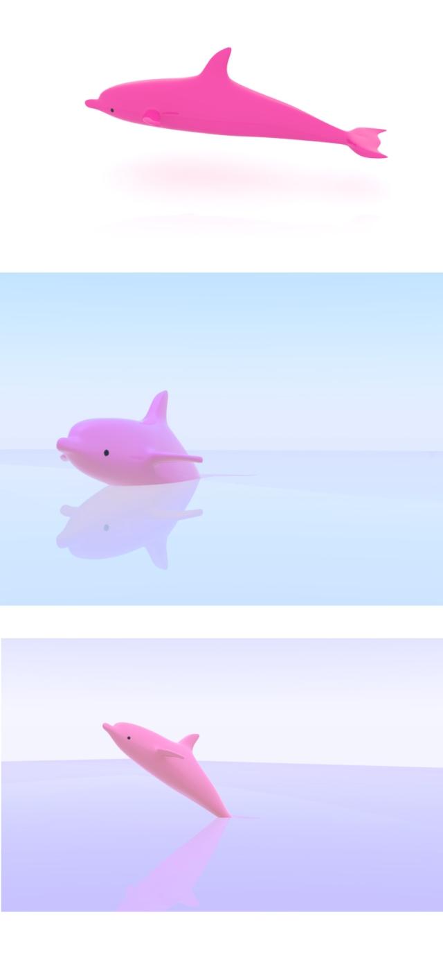 rendering(dolphin)