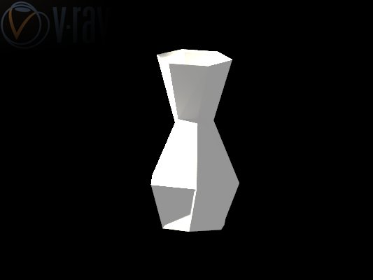 vase render