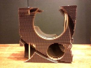 Stacking Model Cardboard