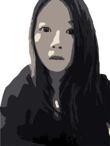 3 color portrait