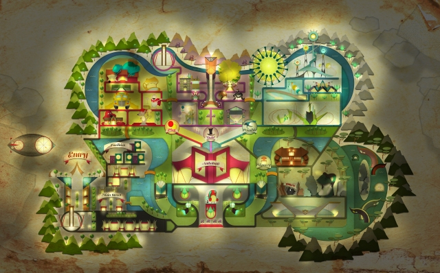 Final Map for Motion Graphics - Night