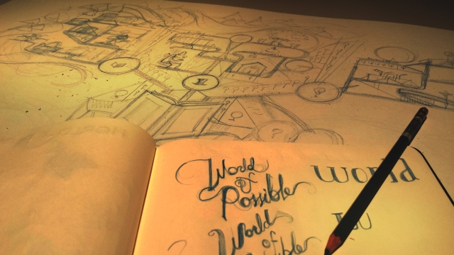 Alvin Oei - Motion Graphics - World of Possible Sketch